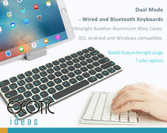 iPad,MacBook Covers > Bluetooth Keyboards for iPad 2,3,4,5 / iPad Mini / iPad Air 1,2,3