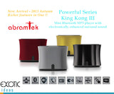 Abramtek King Kong III Bluetooth  MP3 Player. Surround Sound+Subwoofer Effect Speaker, FM, NFC sensor