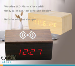 Clocks > Wooden Desk Clocks