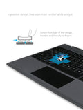 7 Color Backlit Bluetooth Keyboard for Surface Pro 3, 4. Pro 5, Pro 6. Turn your surface pro into a laptop in a second.