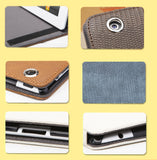 Top Grade Synthetic Leather Sleeve Bag Cover for iPad 2 with Lizard Leather Texture Design