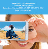 AMPE 6.95 Inch Quad Core Tablet Phone - Palm Theater -  Android 4.4.4,  IPS 5 point touch screen, Dual Sim Card Slots, Unlocked GSM / WCDMA 3G WiFi, Bluetooth,GPS