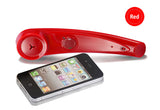 Dual Pairing Bluetooth 4.0 Wireless Handset for iPhone,  iPad, HTC, Samsung, Nokia, Blackberry...etc. Smart Phones