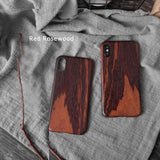 Solid wood phone cases/shells with Kevlar fabric inner. Give your phone an armor protection for iPhone X/XR/XS/XS Max