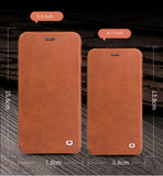 iPhone 7/8 Plus, iPhone 8/8 Plus Genuine Calfskin Leather Case with Flip Cover -32 processing procedure to create a Masterpiece