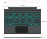 7 Color Backlit Bluetooth Keyboard for Surface Pro 3, Pro 4. 2017 New Pro. Turn your surface pro into a laptop in a second.