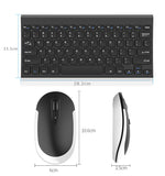 Ergonomics keyboard and mouse set,  2.4G Nano receiver, plug and play. Scissors structure keys work quietly and effectively.