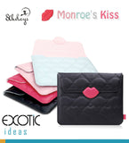 8thDays Monroe's Kisses Series- Sleeve Bag for ipad 2, iPad 3, iPad 4