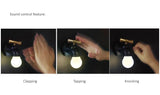 Water tap shape LED night light with Sound control, Rechargeable battery built-in, Easy to install and uninstall