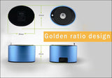 Abramtek Golden Eye X2 - Bluetooth MP3 Player Surround Sound + Subwoofer Effect Speaker. FM Radio