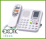 TECO, Stand Alone No PC VoIP Skype Internet Phone Set