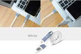 Dual Ports Lightning USB Port Cables with Mini USB port for iPhone 5/5C/5S, iPhone 6/6 Plus and iPad Air iPad Air2, iPad Mini and Android Phones, Tablets, TPE + Copper wire for high performance and stability.