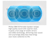 Philips SBM130, LED Display MP3 Player, FM, Philips wOOx sound tech surround sound speaker with powerful bass effect