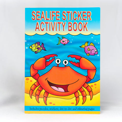 Sealife Sticker Activity Book