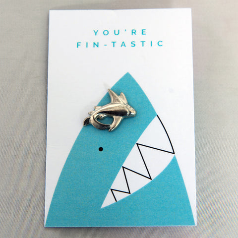 Shark Trust Pin Badge