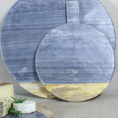Grey marble board - small