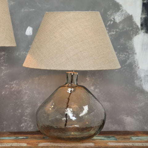 Glass lamp - wide