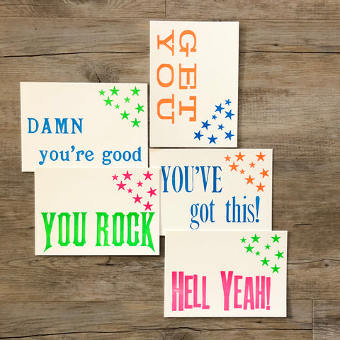 Correspondence cards - encouragement