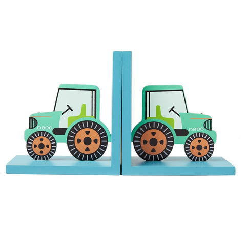 Tractor bookends