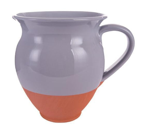 Small terracotta jug