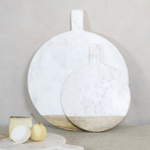 White marble board - large