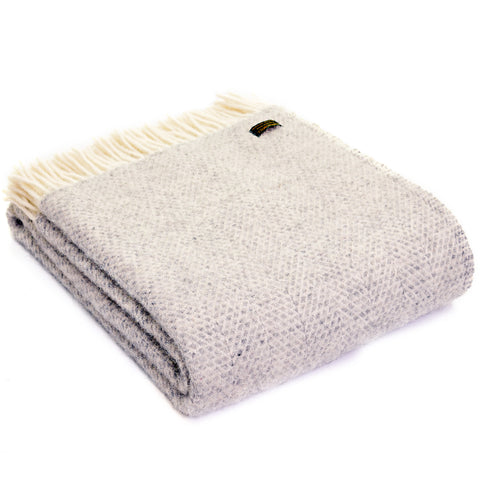 Grey throw