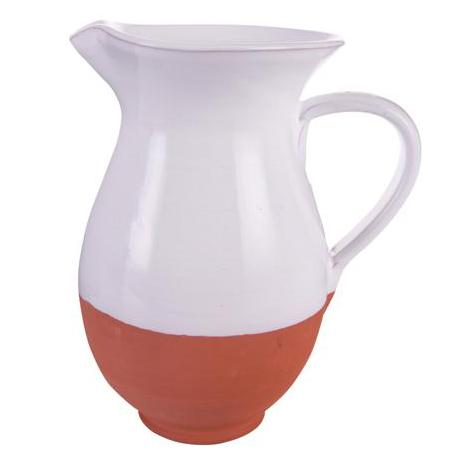 Large terracotta jug