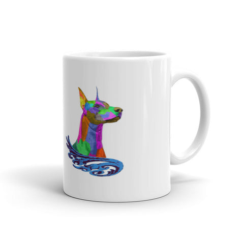 Doberman High Spirts Mug