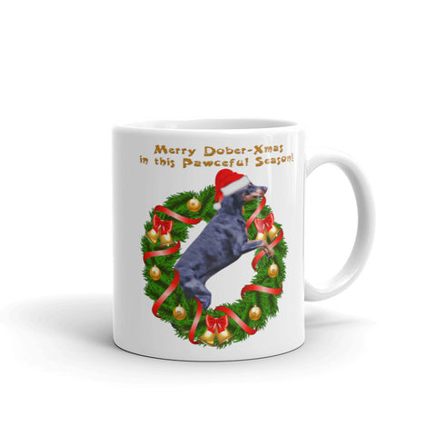 Doberman pawceful mug, Mug made in the USA