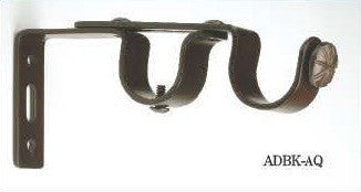 Trax Artisan Collection Double Wall Brackets - ADBK