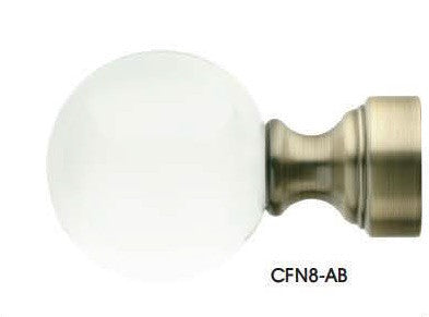 Trax Brilliance Collection Finials - CFN8