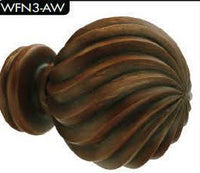 Trax Carlaw Collection Finials - WFN3