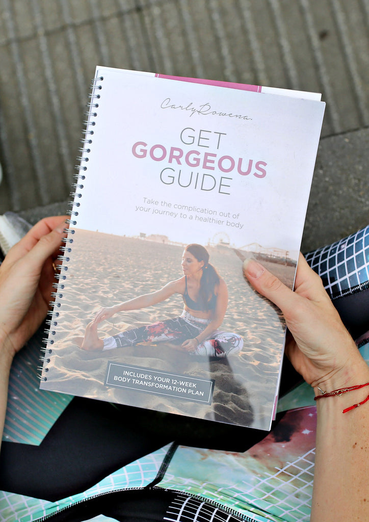 Get Gorgeous Guide - physical book