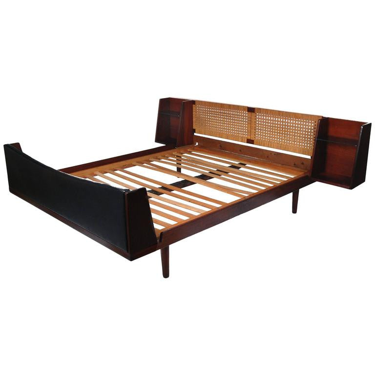 Saturday Feature: 1960s Danish Hans J. Wegner Teak GETAMA Bed