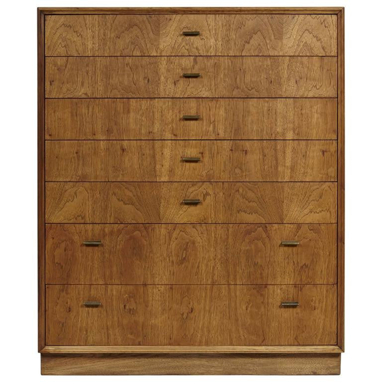 Milo Baughman for Founders Tall Chest of Drawers