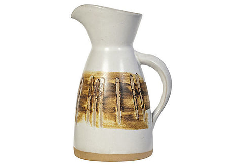 1960s Gordon Martz Ceramic Pitcher