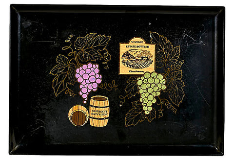 Couroc Wine Serving Tray