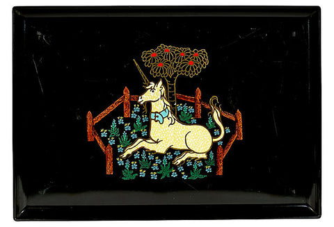 Couroc Unicorn Plastic Serving Tray