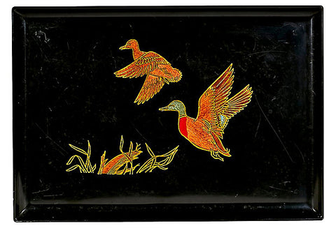 Couroc Mallard Plastic Serving Tray
