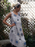 Dress SICILIA 20107 Viscose Dress - Vera Tucci OriginalsLondon Clothing Rose / 1 ?id=16718927986825