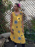 Dress SICILIA 20107 Viscose Dress - Vera Tucci OriginalsLondon Clothing Mustard / 1 ?id=16718928085129