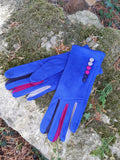 Gloves Margot Faux Suede Touch Screen Glove - G05 - Vera Tucci OriginalsAccessories ROYAL BLUE / SMALL