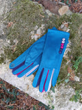 Gloves Margot Faux Suede Touch Screen Glove - G05 - Vera Tucci OriginalsAccessories TEAL / SMALL