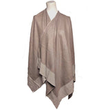 Poncho KELLY - Studed Poncho - Vera Tucci OriginalsAccessories BEIGE / TAN