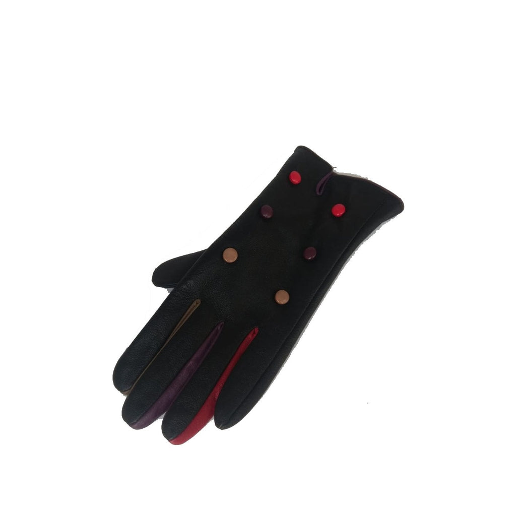 Gloves CHARITY G04 6 BUTTON LEATHER GLOVE RMD1805/001 - Vera Tucci OriginalsAccessories