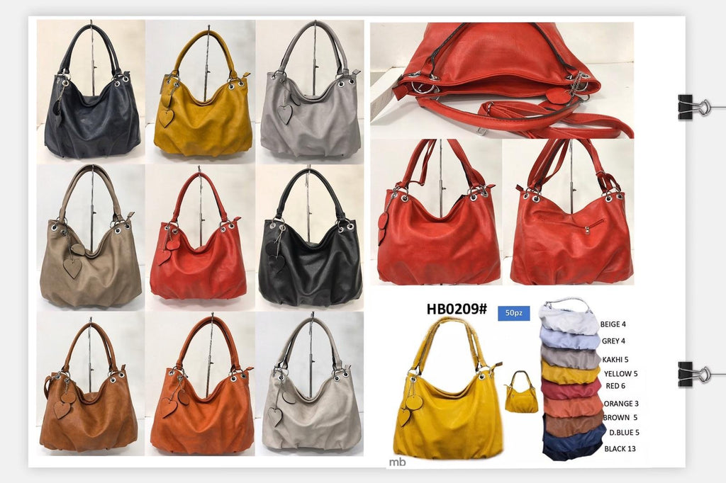 HB0209 FAUX LEATHER BAG