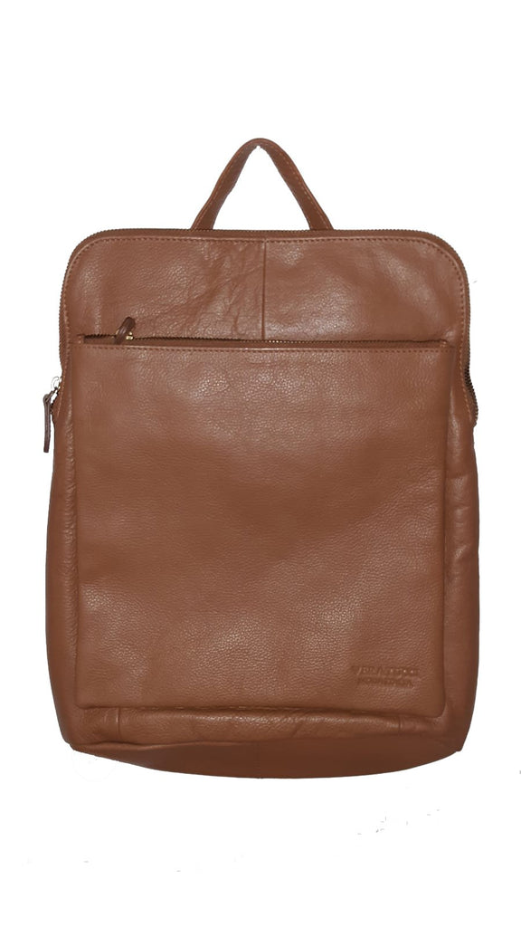 Leather Bag Layla - Vera Tucci OriginalsBags CHESTNUT BROWN