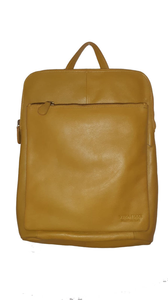 Leather Bag Layla - Vera Tucci OriginalsBags MUSTARD