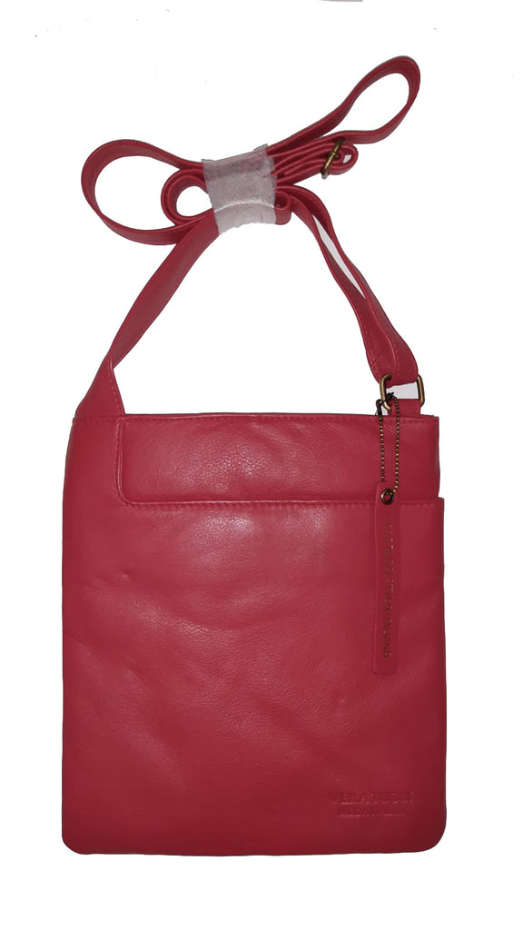 Leather Bag Leigh - Cross Body Leather Bag - Vera Tucci OriginalsBags Red ?id=15324022833289