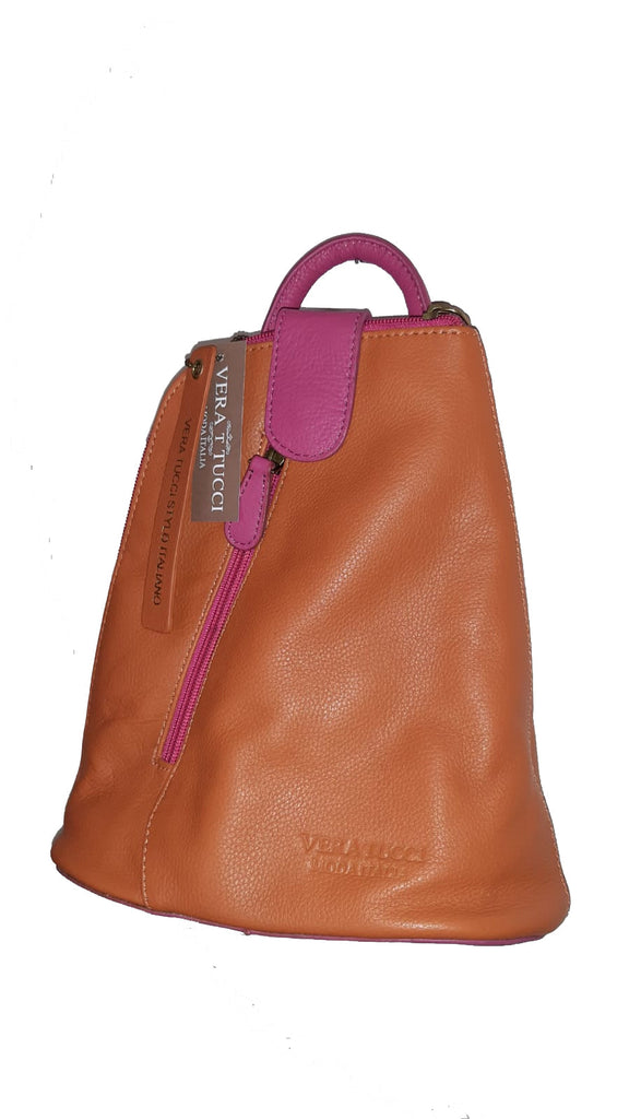 Leather Bag Kitty (Miniature Backpack) - Vera Tucci OriginalsBags